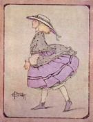 Ethel Everett - Edwardian Girl Walking - Image 1