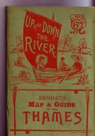 Up and Down the River: Bennet's Map & Guide of the Thames SOLD - Image 1