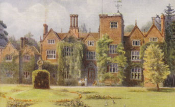 Great Fosters by J.S.Ogilvy from an original watercolour 1911