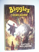 Biggles Goes Alone  First Edition - Image 1