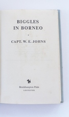 Biggles in Borneo - First Edition by Brockhampton -SOLD - Image 2
